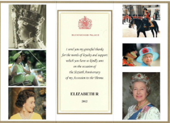 Message from Buckingham Palace
