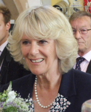 HRH The Duchess of Cornwall visits Kington St Michael village hall on 11th May 2009