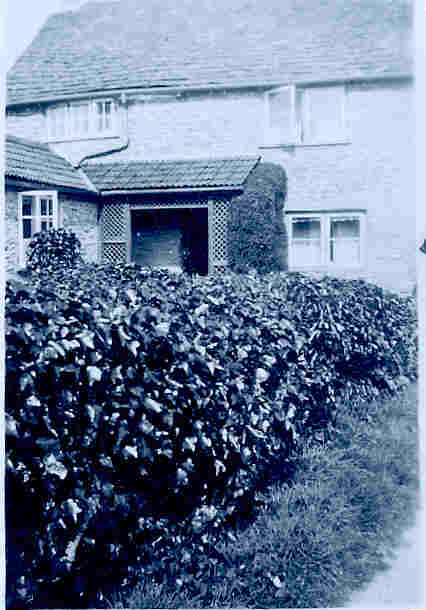 Ivy Cottage in the 1920's