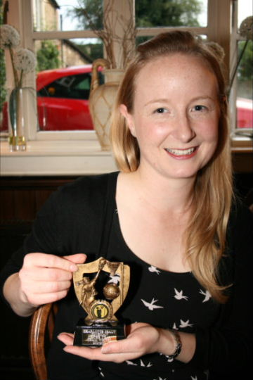 Charlotte Sealy, nominated Clubman of the Year 2011-2012 - KSM White Team