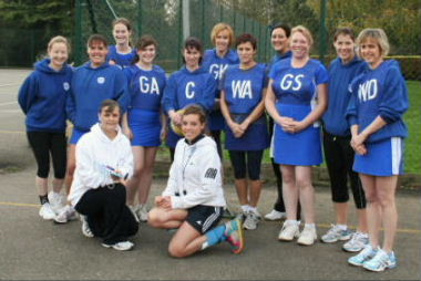 The winning ladies team, 19th November 2011