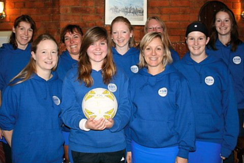 Netball club's White team, October '11