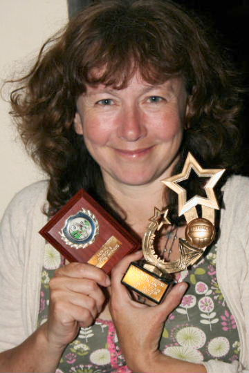 Yvonne Rees, Clubman of the Year 2011-2012 - KSM Blue Team