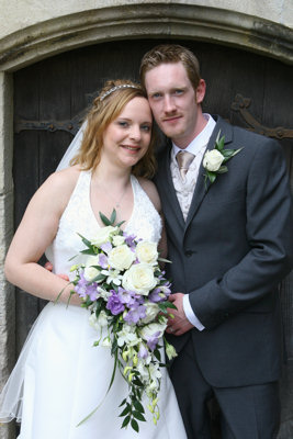Richard & Jen on their wedding day, 31st May 2008