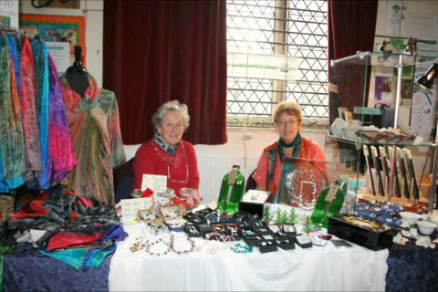 Shop stall at the Christmas Fayre, 3rd December 2011