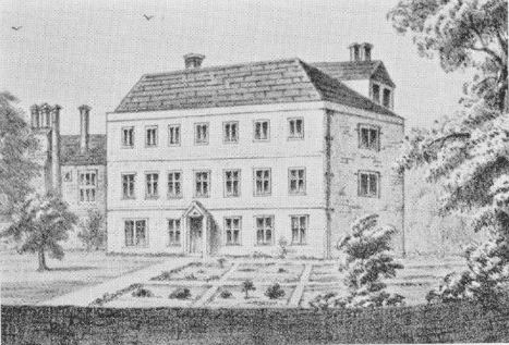 The old Manor House, demolished circa 1864