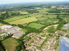 Aerial view of Thakeham